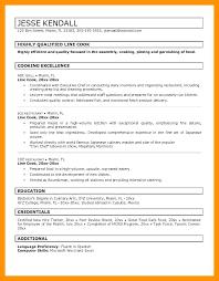 Culinary Resume Samples Culinary Resume Samples Resume Samples For ...