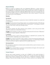 Example For Report Writing Best Ideas Of Examples Resumes Photos ...