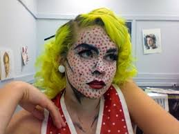 find this pin and more on pop art make up roy lichtenstein painting costume