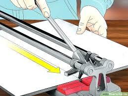 cutting ceramic tile with dremel cut tile image titled cut tile step 6 cut tile already