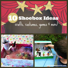 are your kids eyes glued to an electronic box give them an empty shoebox