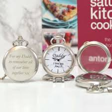 personalised 50th birthday gift multi functional pocket watch