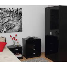 Quebec Bedroom Furniture Quebec 3 Piece Bedroom Furniture Set Black From The Original