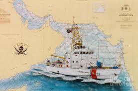 Coast Guard Chart Art Uscgc Baranof Nautical Chart Cathy Peek