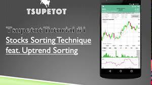 Tsupetot Tutorial 1 Stocks Sorting Technique Featuring Double Sort