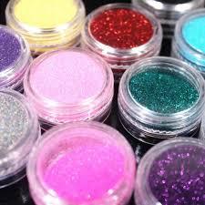 full beauty ab chameleon color sequins nail art glitter