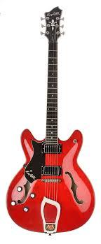 Hagstrom Viking Left Hand Electric Guitar - Wild Cherry ...