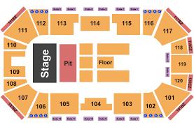 Ralston Arena Seating Chart Omaha