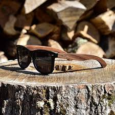 walnut wood sunglasses for men women with polarized lenses with wood box gowood