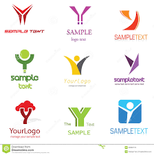 Logo Design Samples For Alphabets Letter Y Logo Stock Vector Illustration Of Elements 22662779