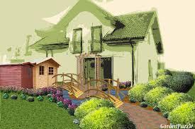 game house front yard   GardenPuzzle   online garden planning toolGarden design game house front yard   Spring