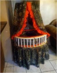 round bassinet bedding set