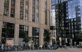 twitter san francisco office. modren san old and new the merchandise mart building left is home to twitter along throughout san francisco office