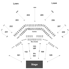 Hollywood Tinley Park Seating Chart Zac Brown Band Tickets At Hollywood Casino Amphitheatre