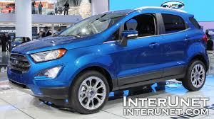 2018 ford 4x4. interesting 4x4 2018 ford ecosport titanium u2013 new compact suv on ford 4x4