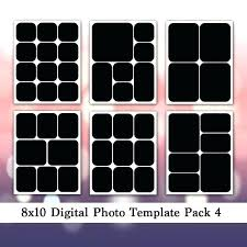 8 X 10 Heart Template 8 X 10 Album Template Image 0 Family Collage Template Inch