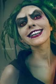 creepy joker makeup tutorial female joker version squad jared leto maquillaje joker
