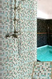 porcelain mosaic shower wall and floor tile tc 2507tm