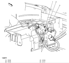 2004 pontiac sunfire headlight wiring diagram wiring diagrams 200 pontiac sunfire rh headlight is dim lh bulb ticking