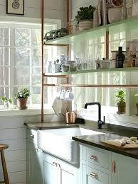 farmhouse cabinet pulls copper cabinet pulls light blue farmhouse kitchen cabinets with copper piping shelves copper farmhouse cabinet pulls
