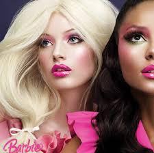 why do you think that barbie and mac chose this photo for their adver do real women really want their makeup to look like this