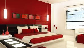 red paint colors for bedrooms photo - 2