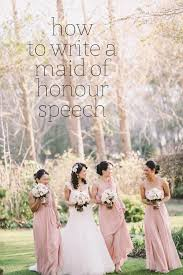 Maid of Honor Speech   Write Your Speech and Toast the Worry Free