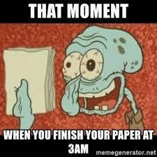essays finished essays