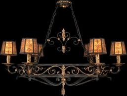 antique reion oval chandeliers