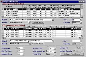 Evaporator Coil Sizing Chart Elite Software Refrig