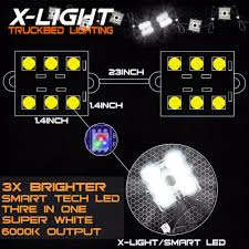 8pc waterproof pickup truck bed light kit led lighting accessories super white in decorative lamp from automobiles motorcycles on aliexpress com alibaba