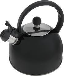<b>Чайник со свистком</b>, <b>2.5</b> л графитовый