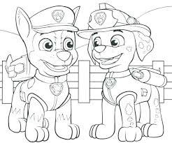 Nonsensical Paw Patrol Coloring Rubble Page Pages Book Games Ryder