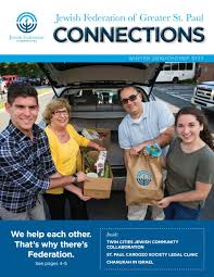 connections fall by jewish federation of greater st paul issuu connections winter 2016