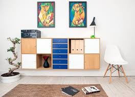 versatile furniture. 1. Install A Floating Shelf With Different Cabinets Versatile Furniture