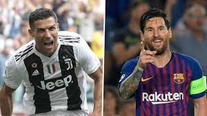 European Goal Scoring Charts Champions League All Time Top Scorers Ronaldo Messi Ucl
