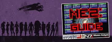 <b>Mass Effect</b> 2 <b>N7</b> Mission Locations | AGREEorDIE