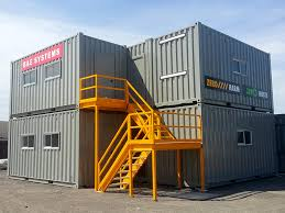 Shipping container office building Prefabricated Container Office Complex Odd Stuff Magazine Container Office Complex Special Projects Byport Shipping Containers