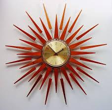 154 best atomic wall clocks images on mid century modern clocks