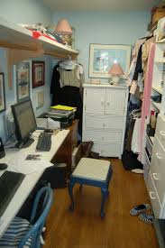 closet to office. Walk In Closet Into Office My Adorable Husband Turned Our An Small To Space