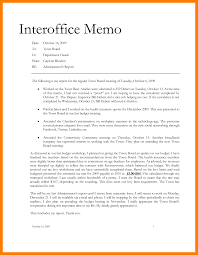 Example Of An Interoffice Memo 24 Interoffice Memorandum Sample Parkattendant 1