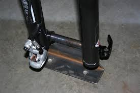 diy thru axle bicycle fork mount luxury forks wa weather