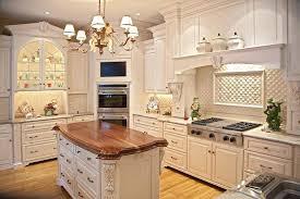 antique white glazed kitchen cabinets antique white glazed kitchen cabinets ideas gold metal shade chandelier lighting grey metal gas top stove interior