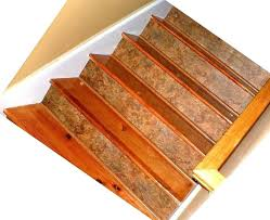 vinyl stair treads plank rubber tread and riser covers on stairs landing