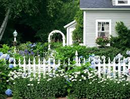 privacy fence ideas for backyard classic garden fencing makes a beautiful addition to any front or