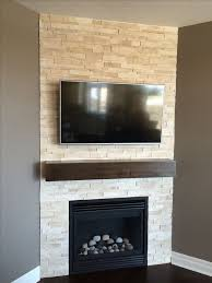 27 stunning fireplace tile ideas for your home tv over fireplacecorner
