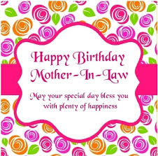 40 Happy Birthday MotherInLaw Wishes Messages Quotes Fascinating Loving Mother In Law Quotes