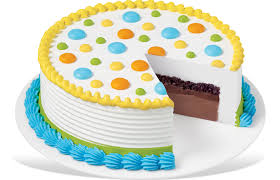 Dq Round Cake