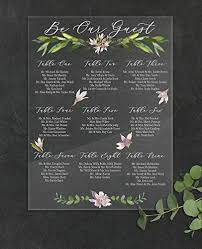 Wedding Seating Chart Acrylic Amazon Com Seating Chart Wedding Clear Sign For Wedding