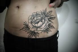 татуировки на животе мужские и женские тату на животе фото
